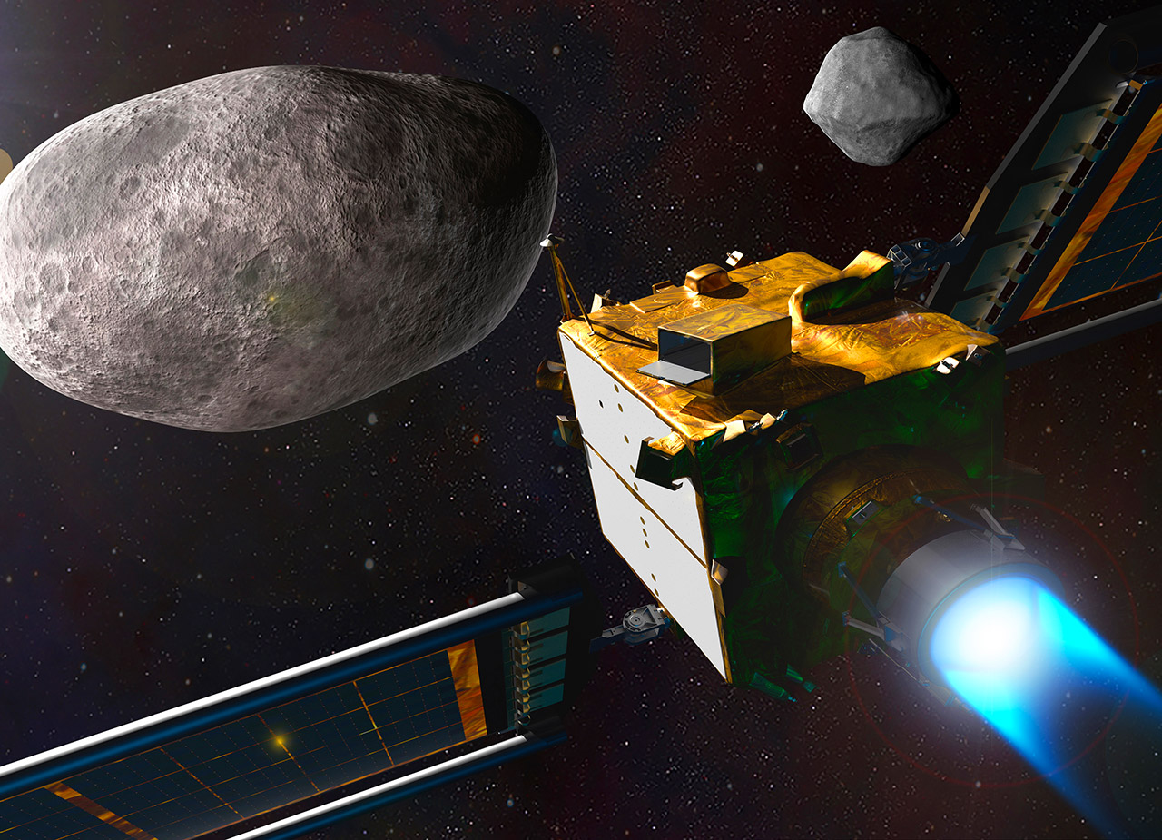 NASA Double Asteroid Redirection Test DART Mission Earth Planet