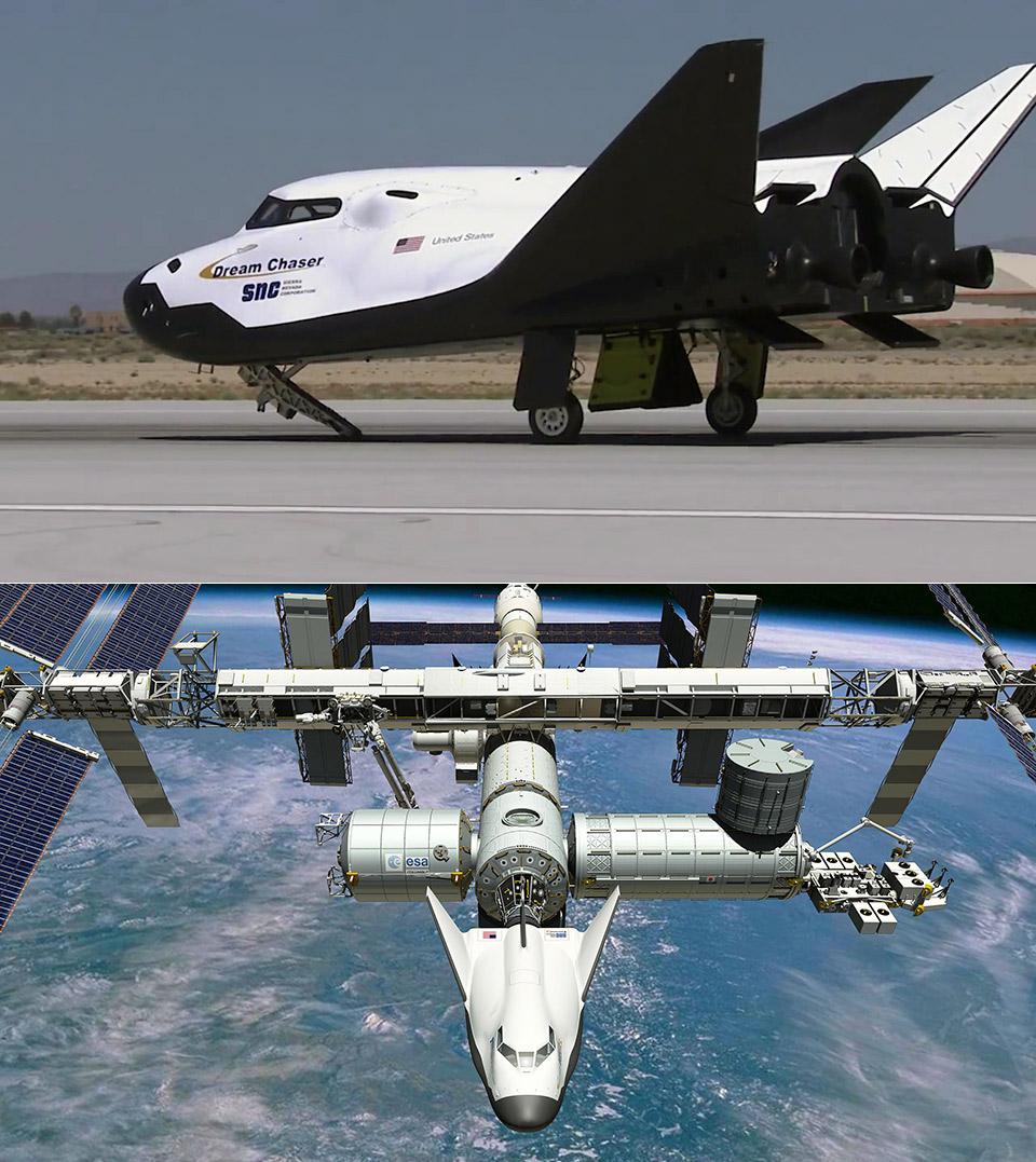 NASA Dream Chaser Sierra Nevada Corporation