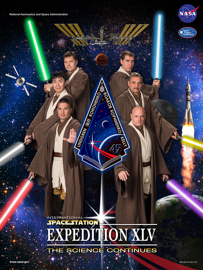 NASA Expedition Poster