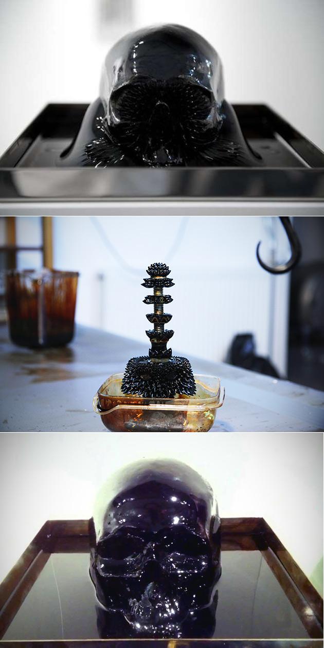 NASA Ferrofluid
