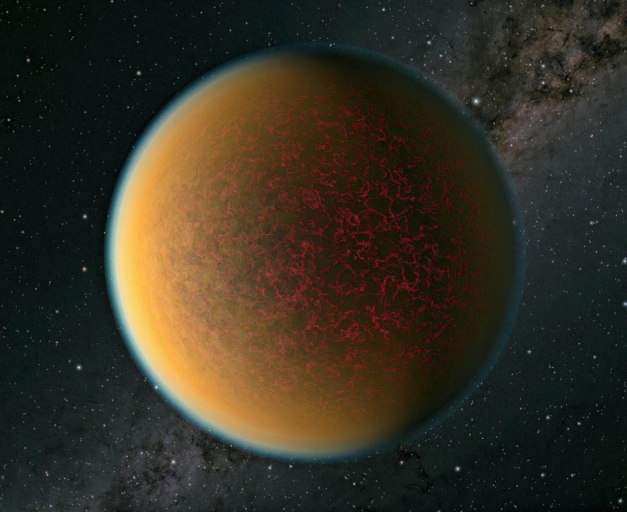NASA Hubble GJ 1132 b Planet Second Atmosphere