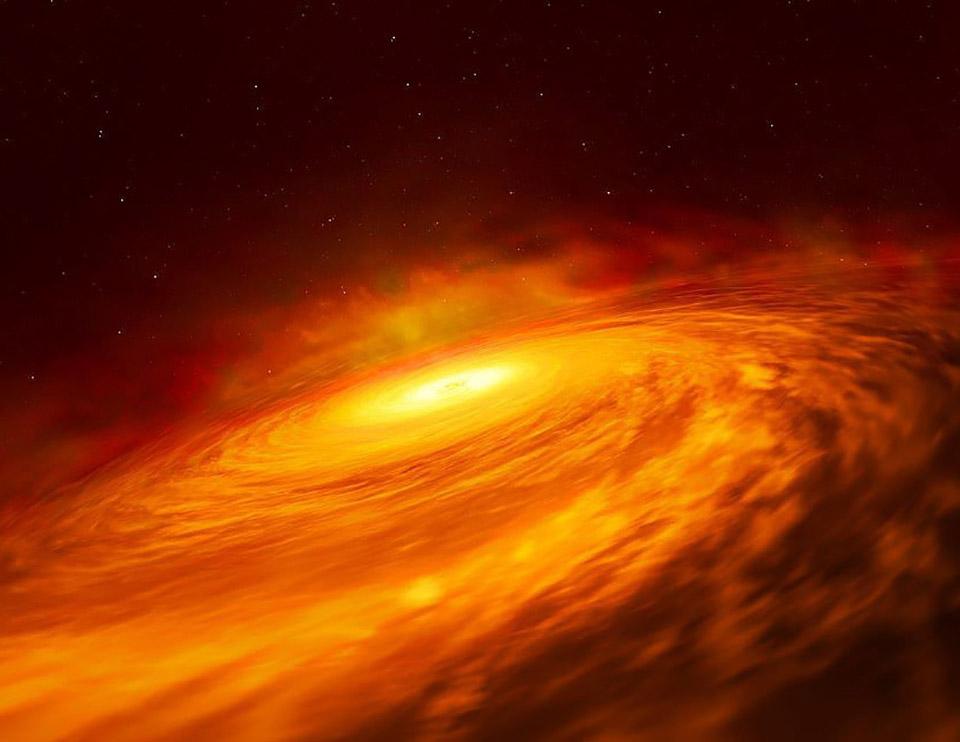NASA Hubble NGC 1347  Black Hole