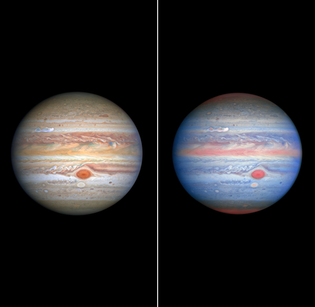 NASA Hubble Space Telescope Jupiter Storm