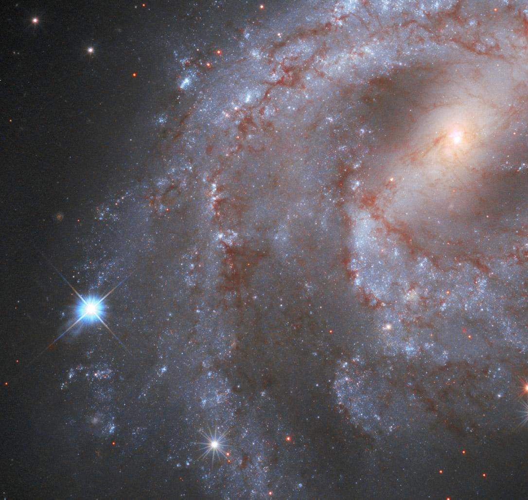 NASA Hubble Space Telescope Supernova