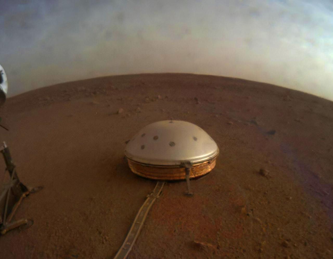 NAS InSight Mars Crust Interior