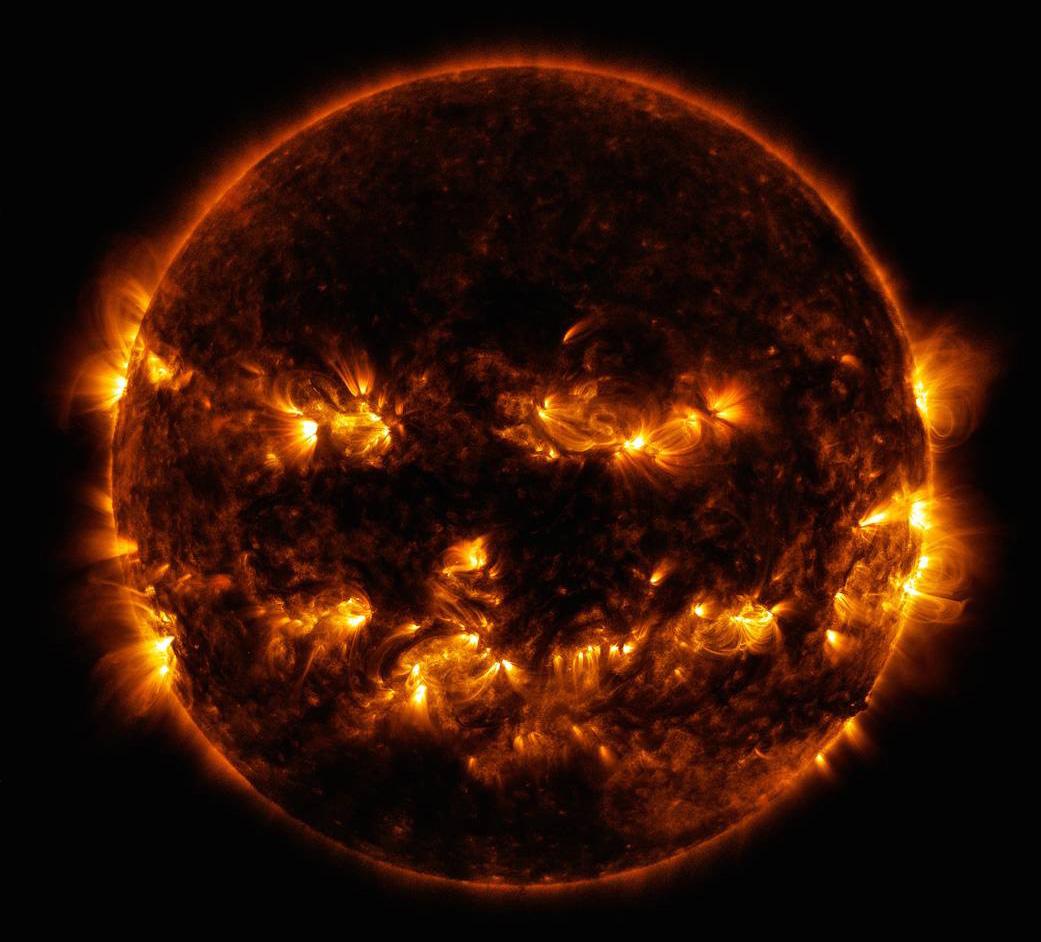 NASA Jack-o-lantern Sun Halloween