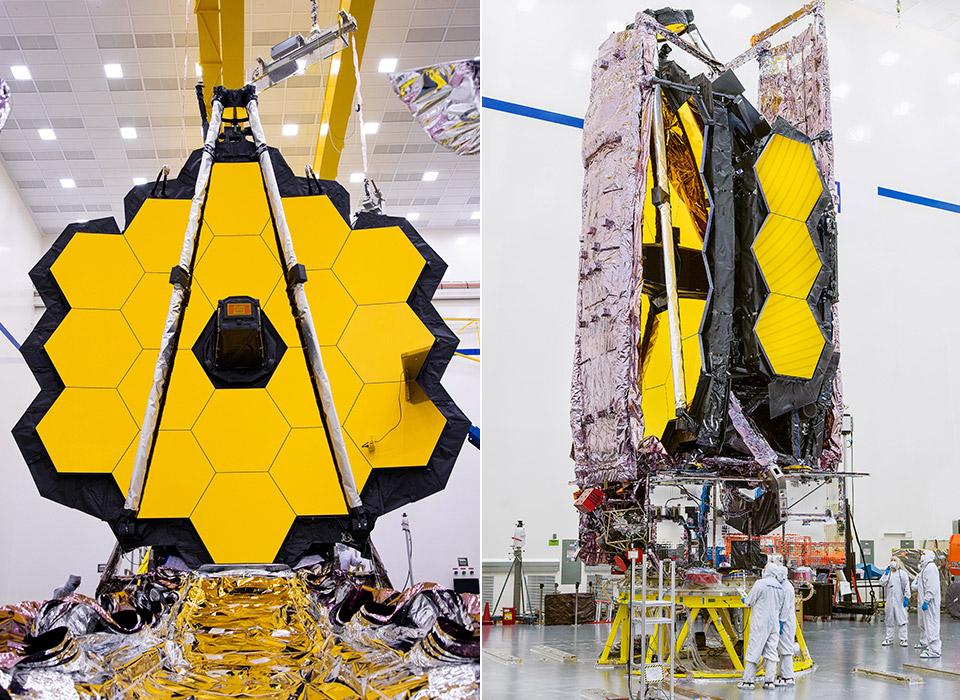 NASA James Webb Space Telescope Launch December