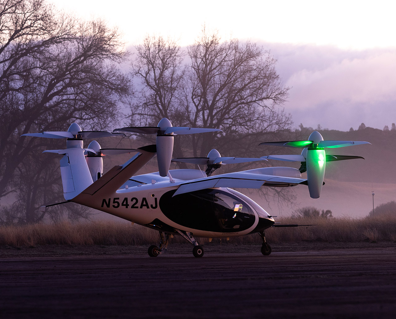 NASA Joby Aviation Electric Air Taxi AAM