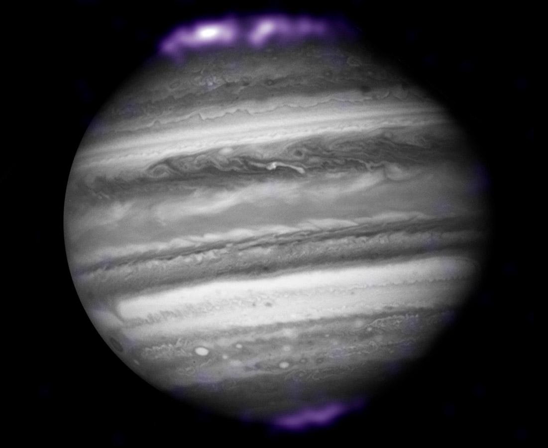 NASA Juno Jupiter Aurora X-Ray Solar System