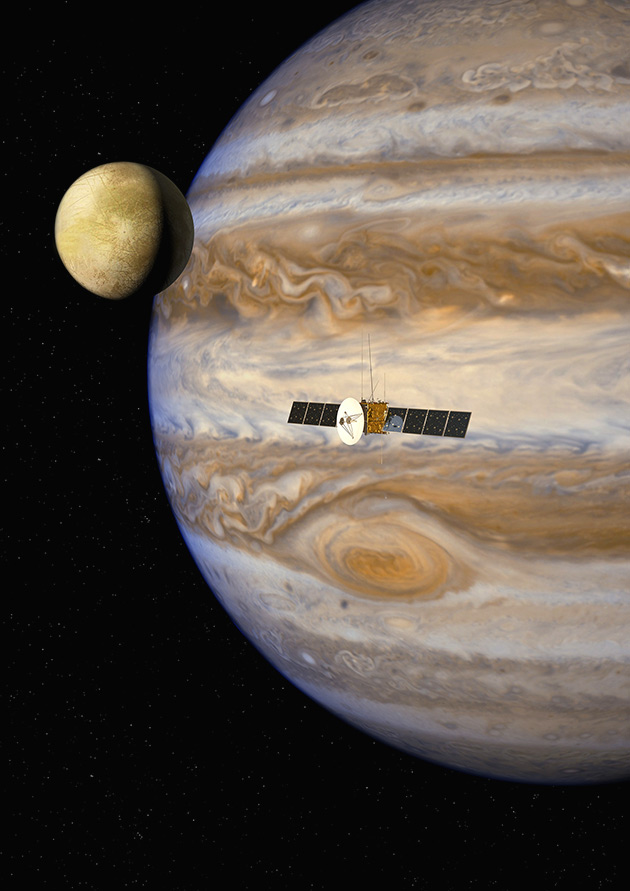 NASA Jupiter Footage