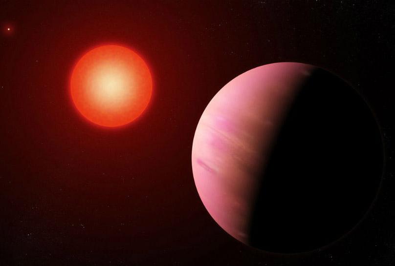 NASA Kepler Spacecraft Planet