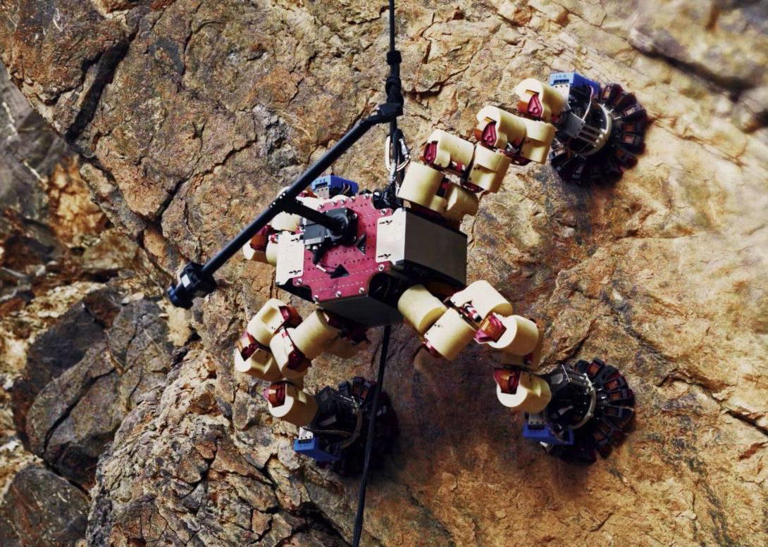 NASA Lemur Robot