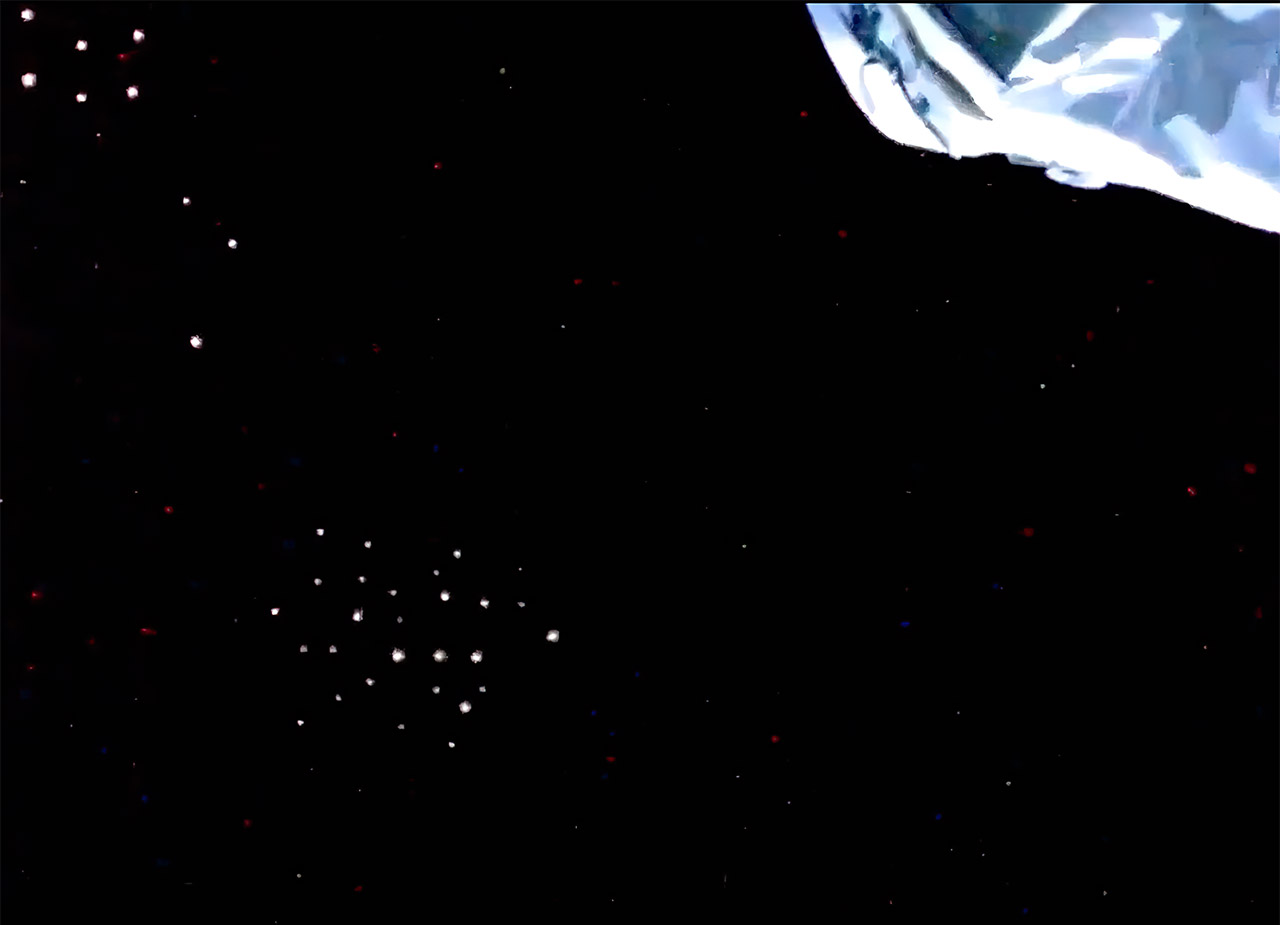 NASA Live ISS Feed Mysterious Lights Unidentified Flying Object