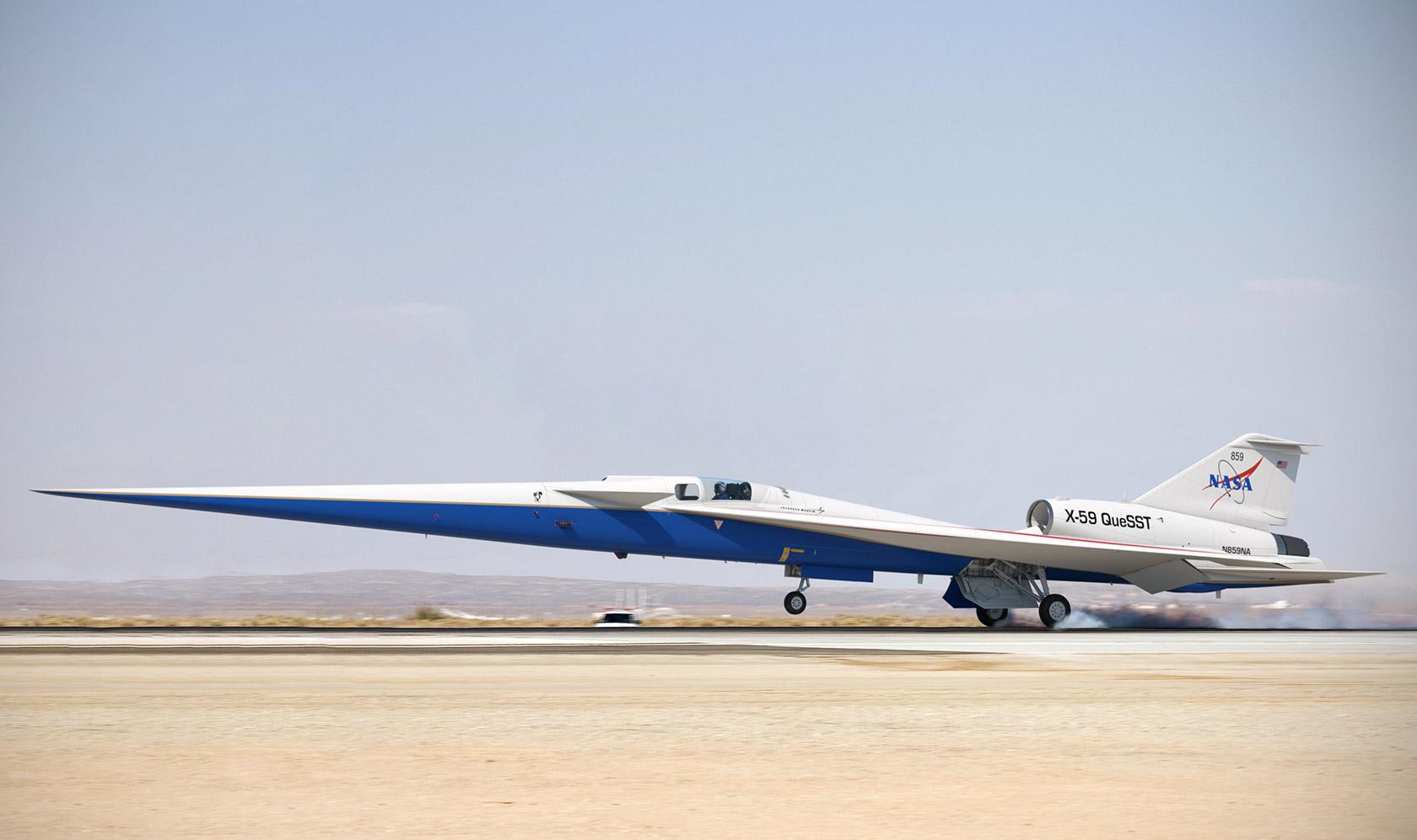 NASA Lockheed Martin X-59 QueSST