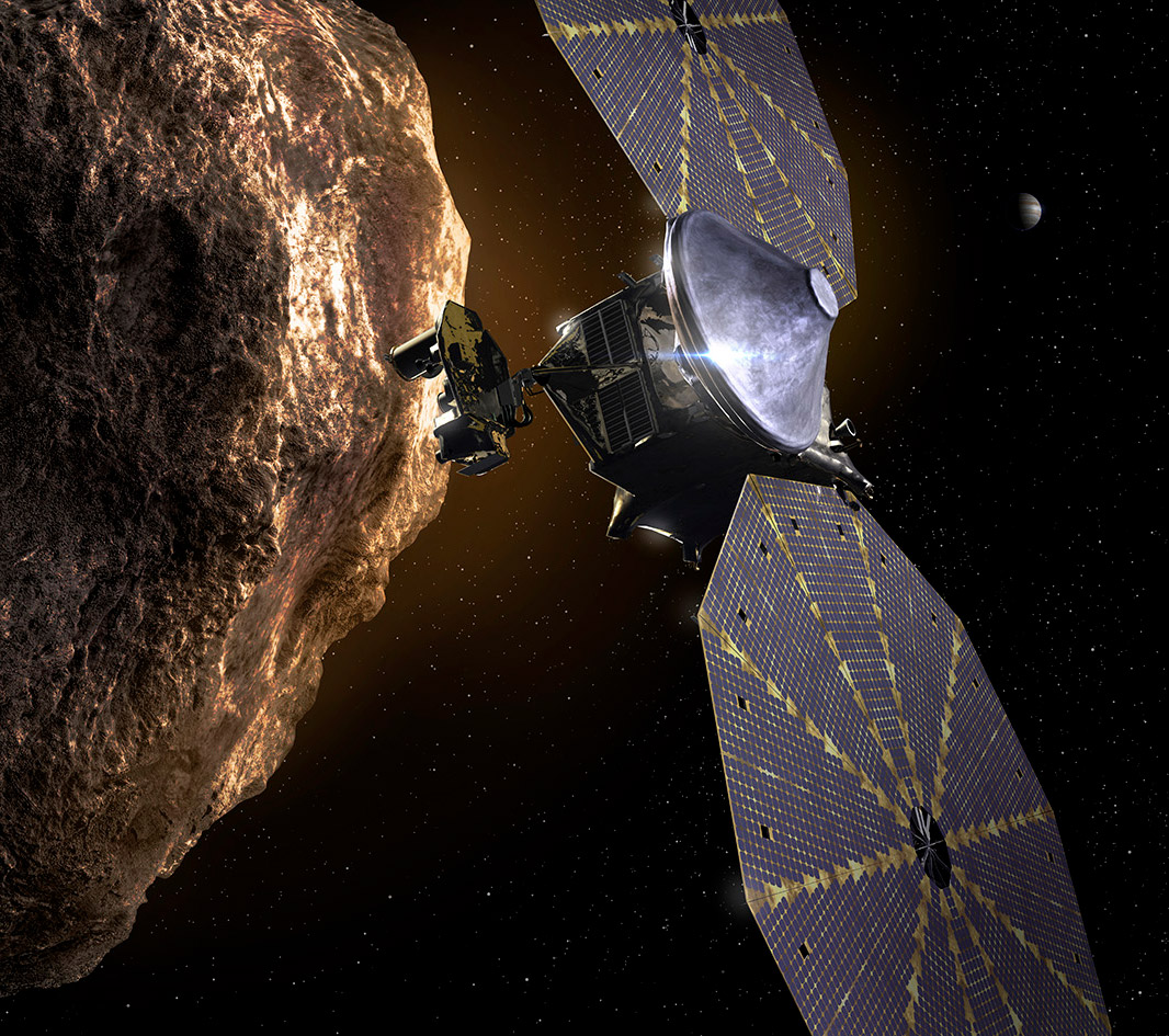 NASA Lucy The Beatles Mission Asteroid Space Time Capsule