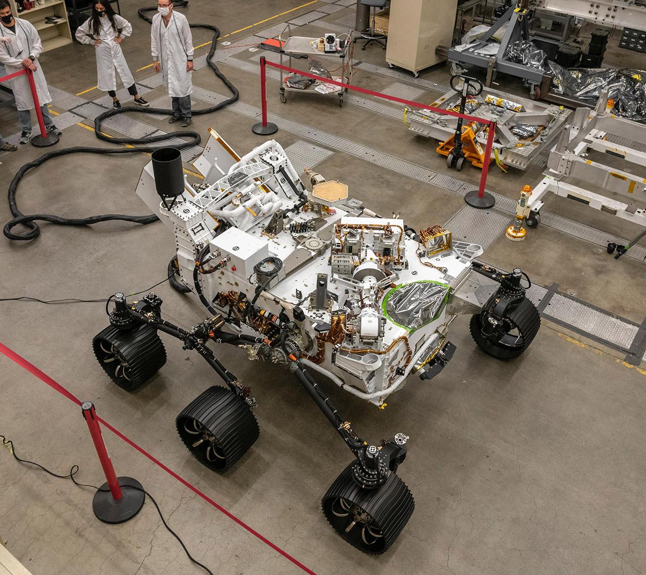 NASA Mars 2020 Perseverance Rover Engineering
