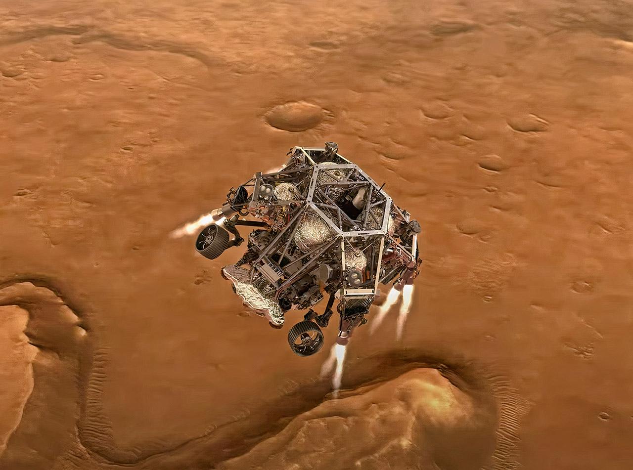 NASA Mars 2020 Perseverance Rover Landing