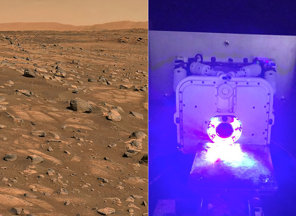 NASA Mars 2020 Perseverance Rover Rock Sample