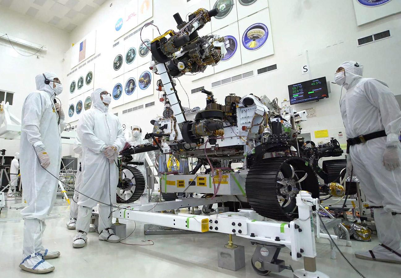 NASA Mars 2020 Rover Bicep Curls