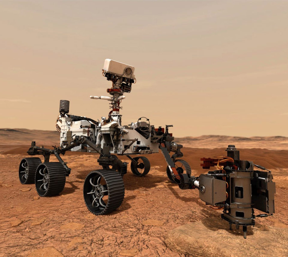 NASA Mars 2020 Rover Perseverance