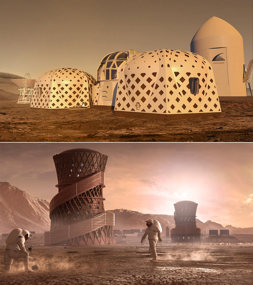 NASA Mars 2020 Space Habitat