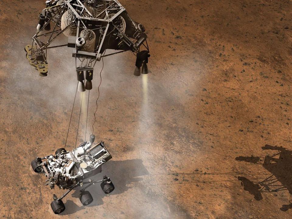 Mars Curiosity Descent Neural Network