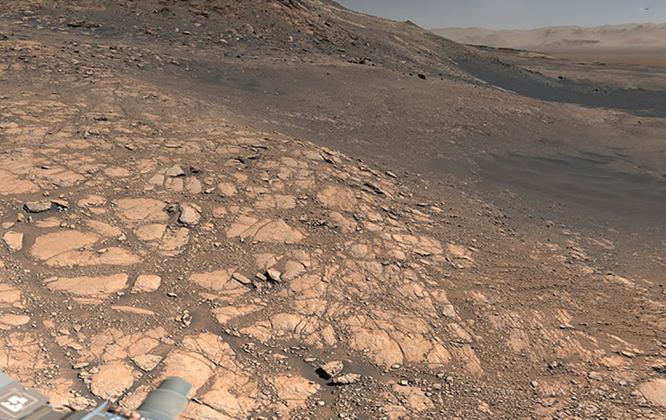 NASA Mars Curiosity Rover Panorama