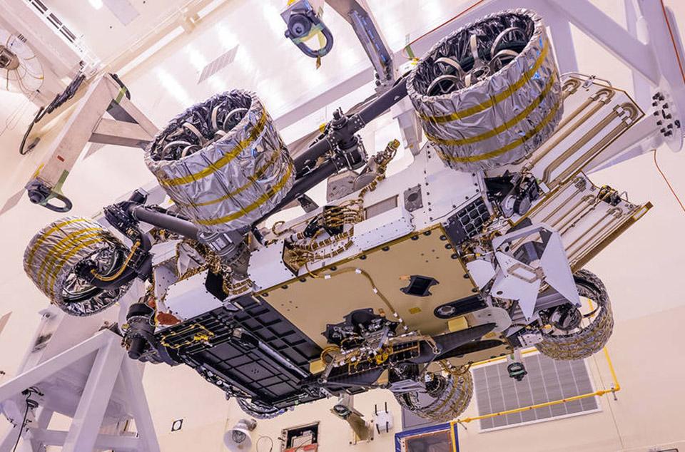 NASA Mars Helicopter Perseverance Rover