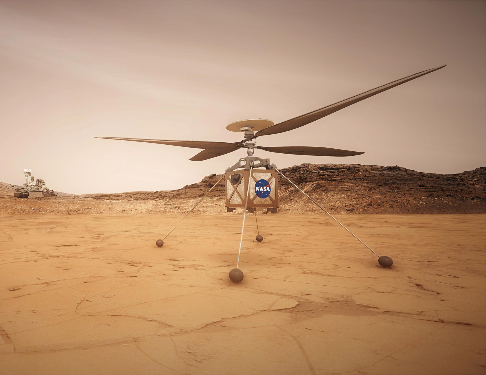 NASA Mars Helicopter Scientist