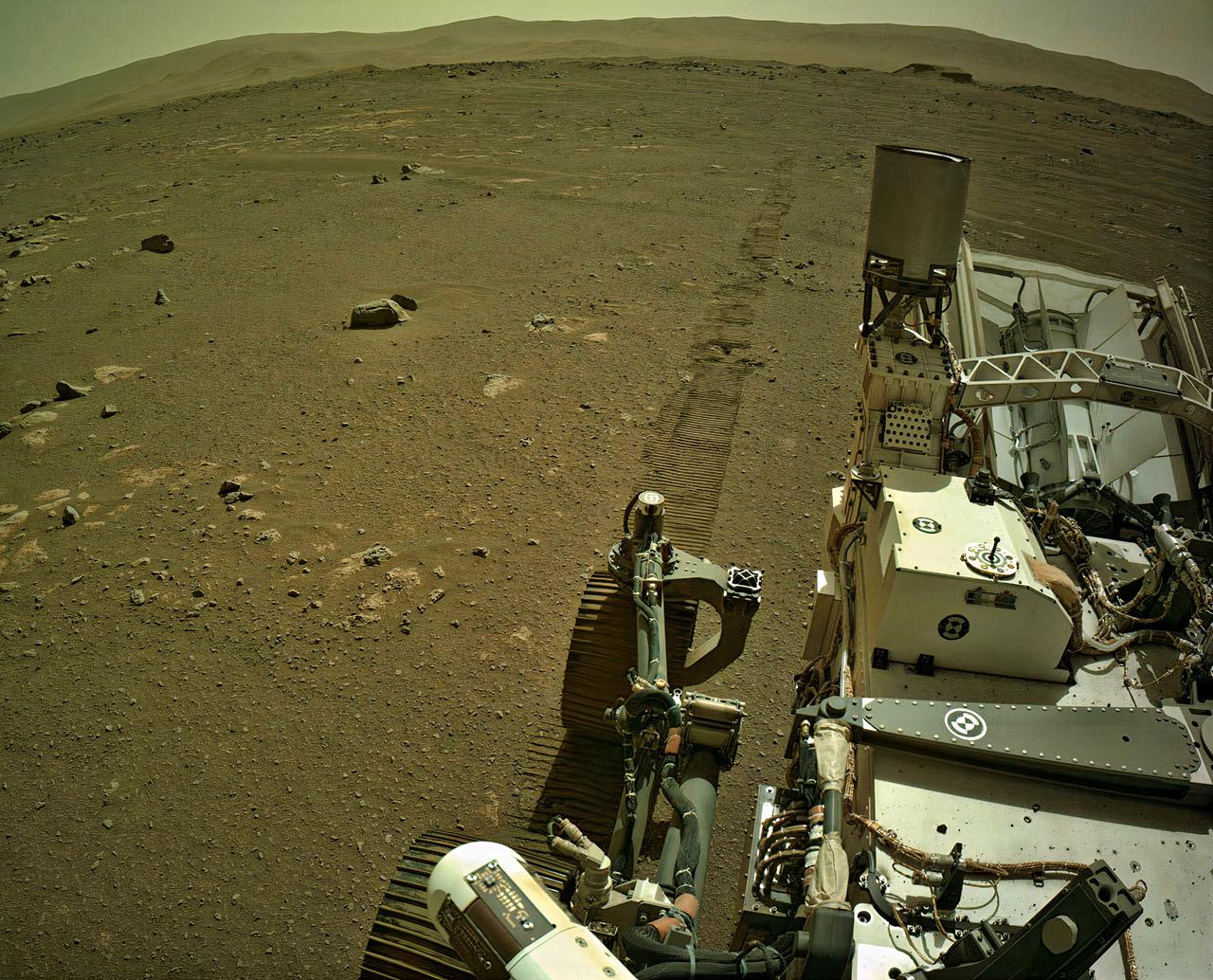 NASA Mars Perseverance Rover Driving Sound