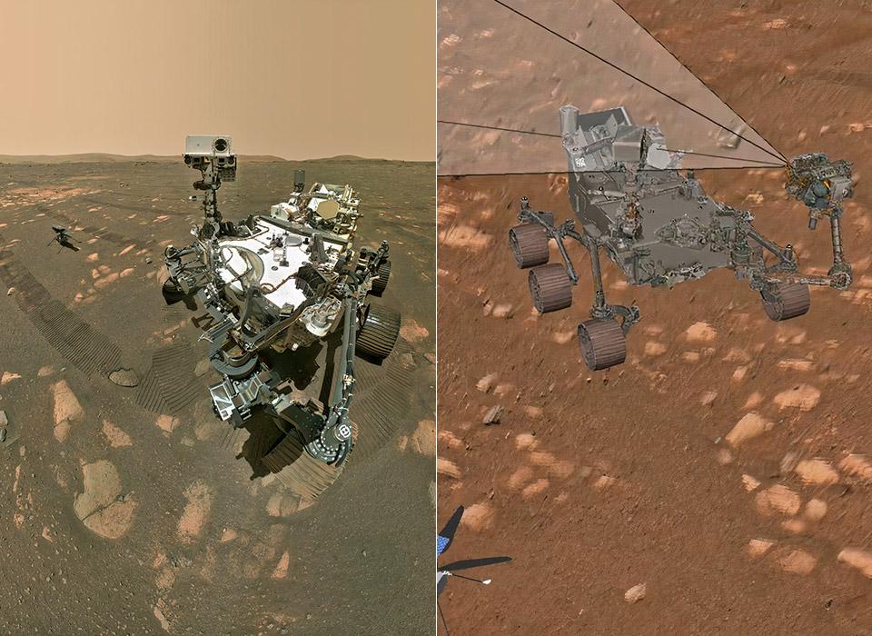 NASA Mars Perseverance Rover Selfie How To