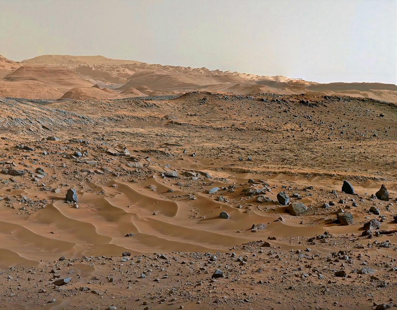 NASA Mars Rover 4K
