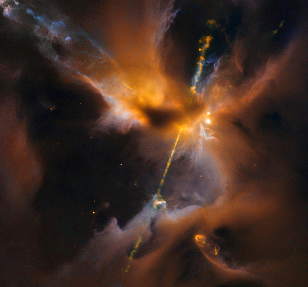 NASA May 4th Celestial Lightsaber Hubble