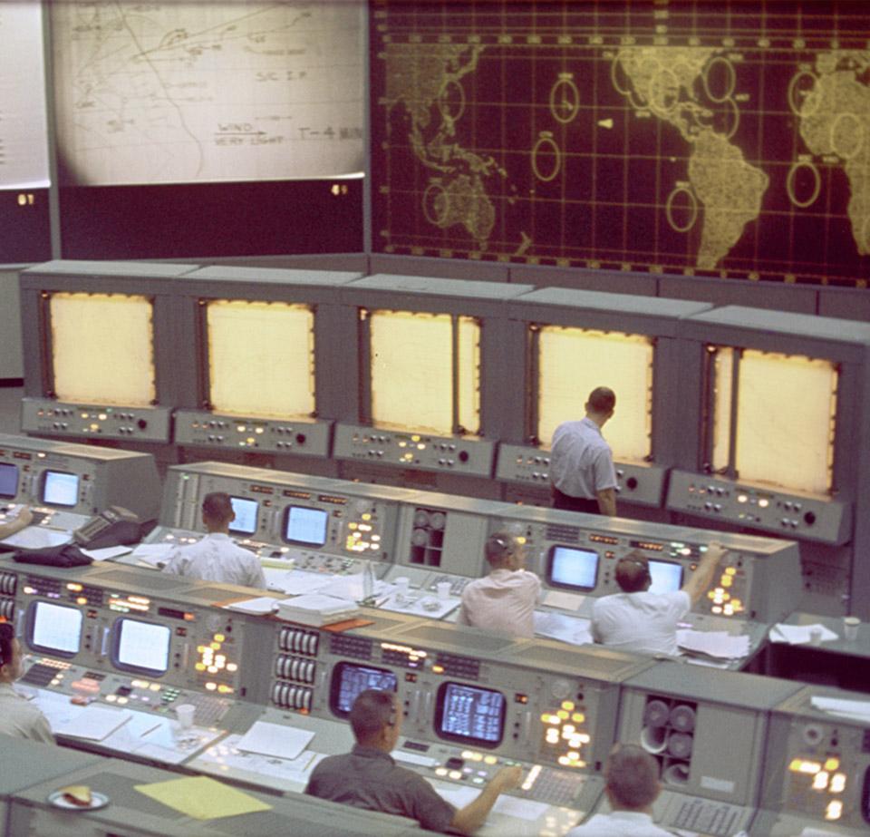 NASA Mission Control Center Apollo Program
