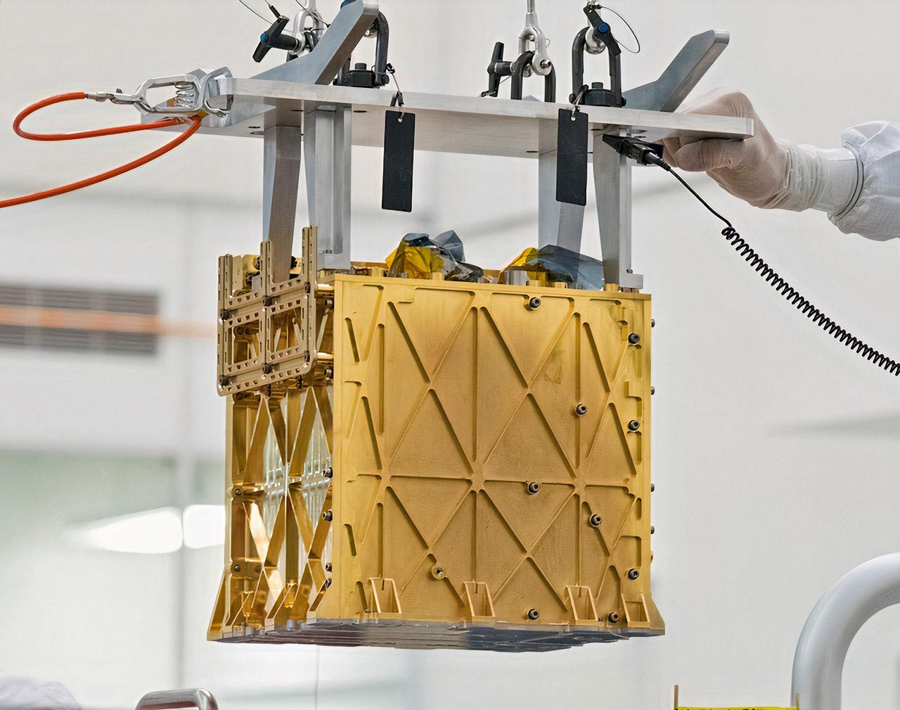 NASA MOXIE Mars Air Oxygen