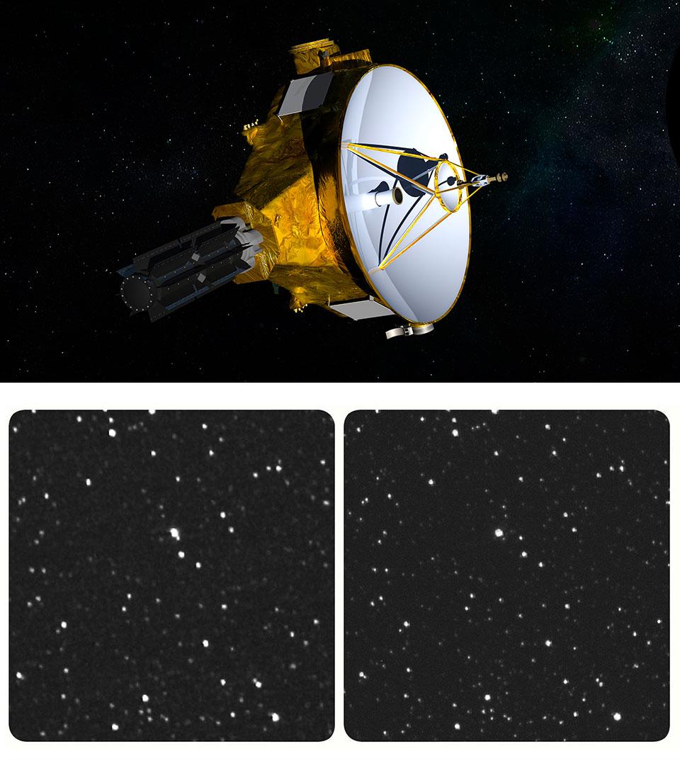NASA New Horizons Spacecraft Stars