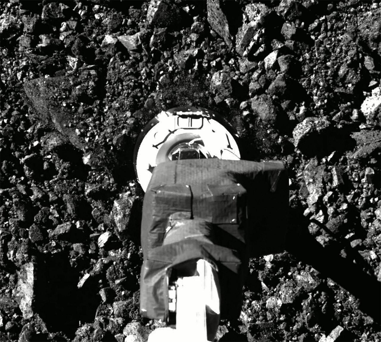 NASA OSIRIS-REx Asteroid Bennu Sample Collection