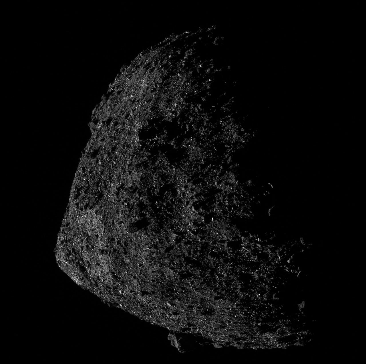 NASA OSIRIS-REx Bennnu Closest