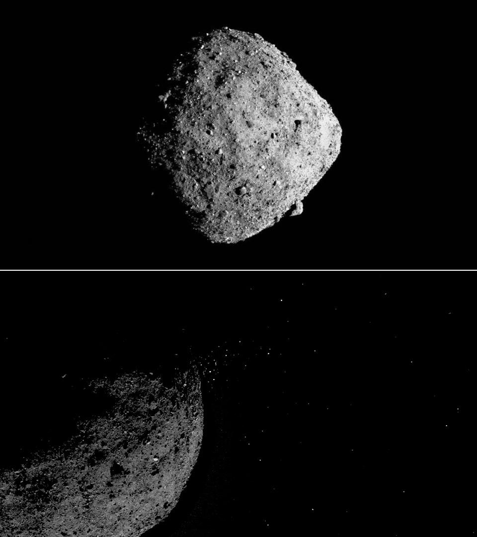 NASA OSIRIS-REx Spacecraft Bennu