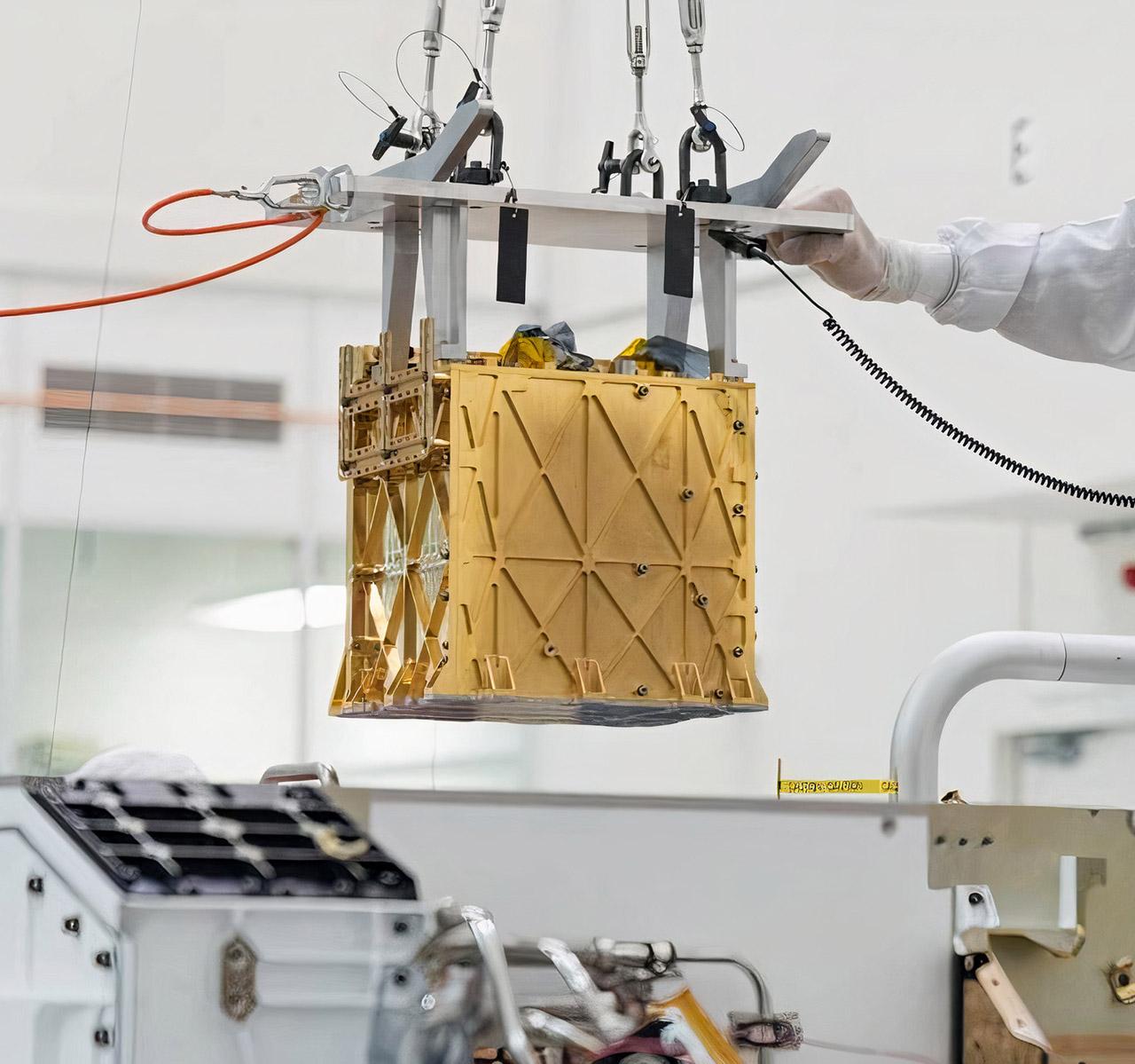 NASA Perseverance Mars Rover MOXIE Oxygen