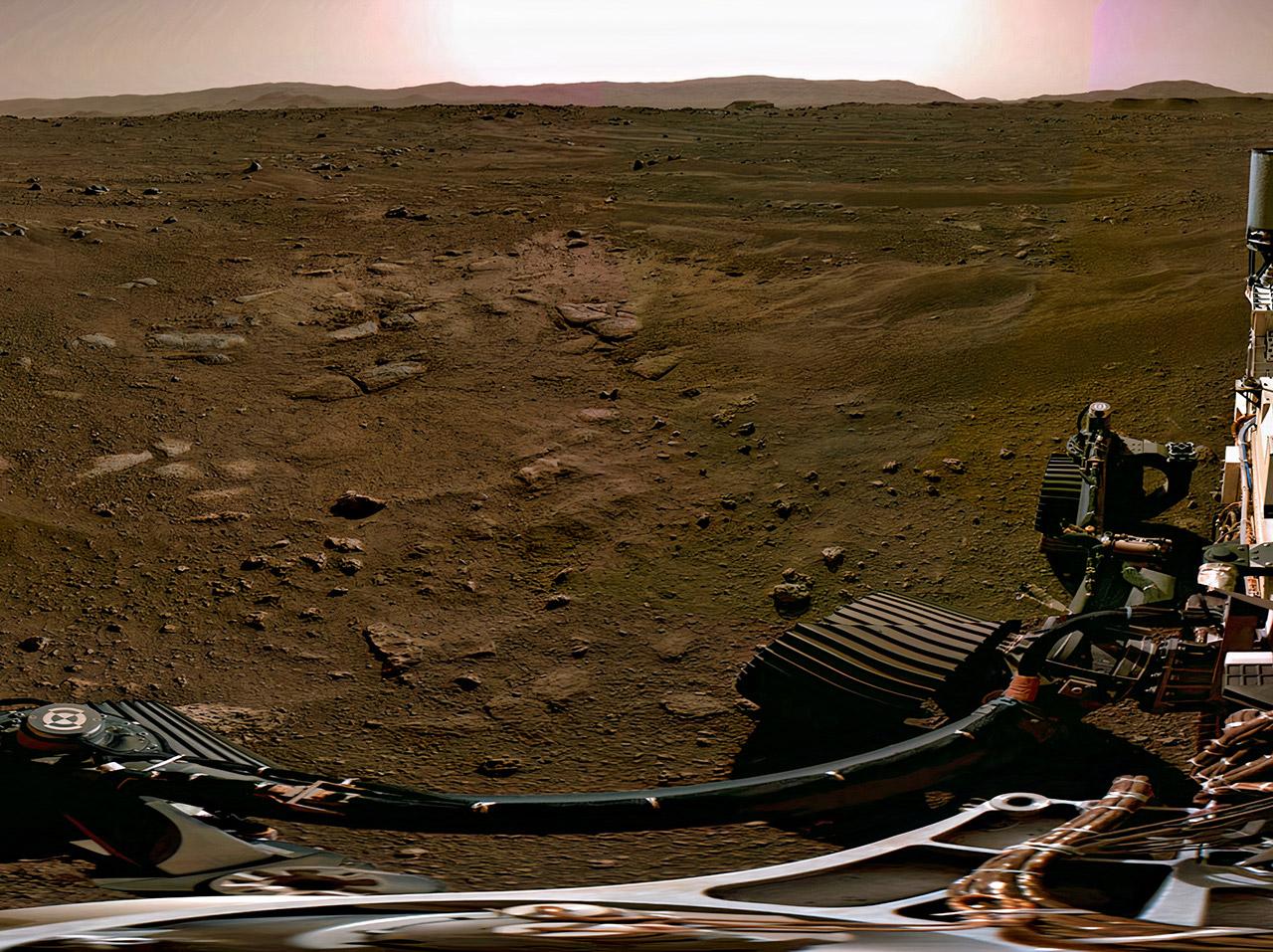 NASA Perseverance Rover Descent Touchdown Audio