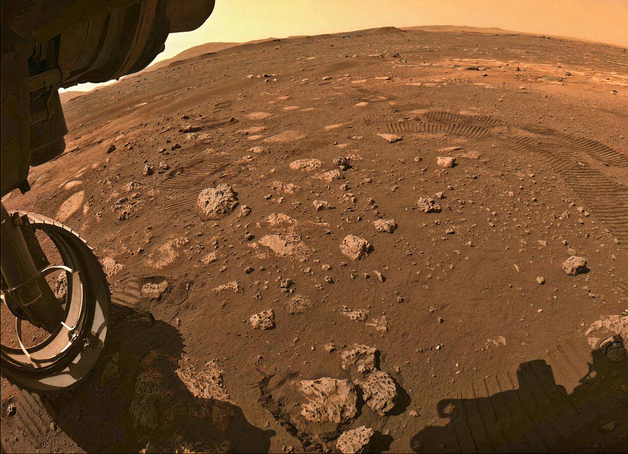 NASA Perseverance Rover Mars Drive
