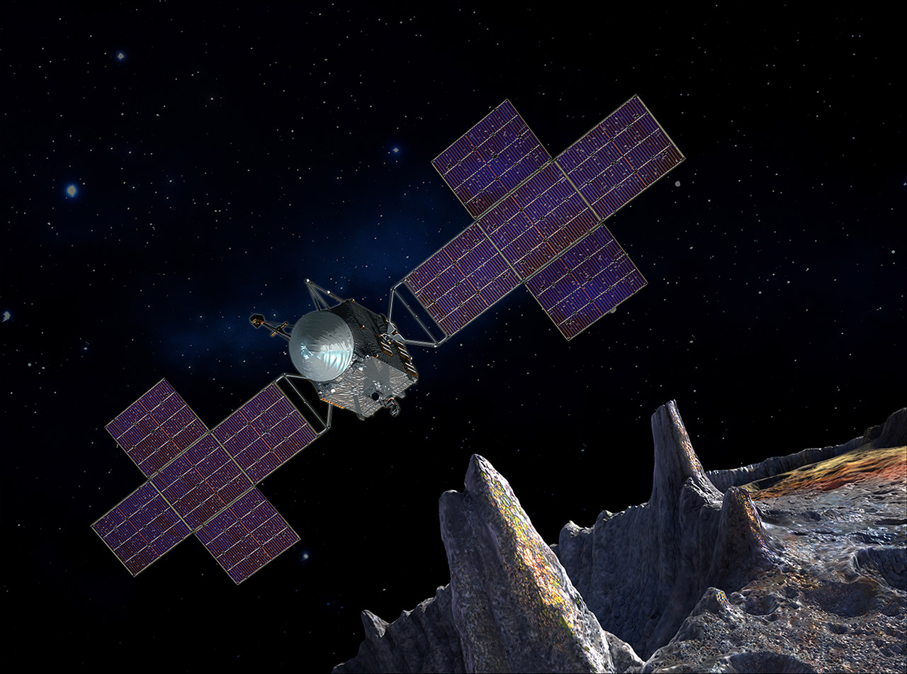 NASA Psyche Mission Asteroid Mission