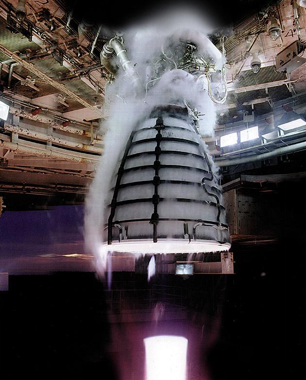 NASA RS-25 Rocket