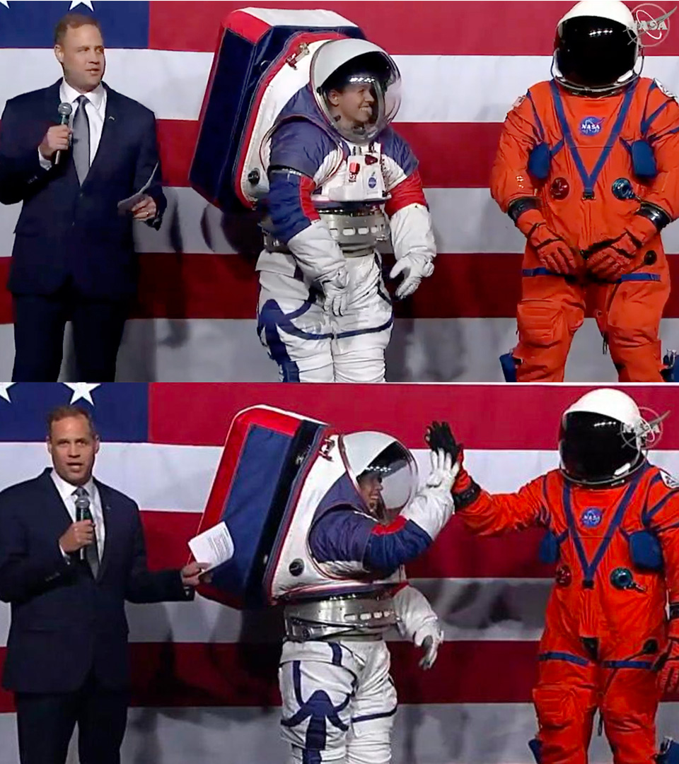 NASA New Space Suit Artemis Mission