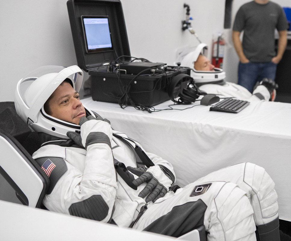 NASA SpaceX Astronaut Suits
