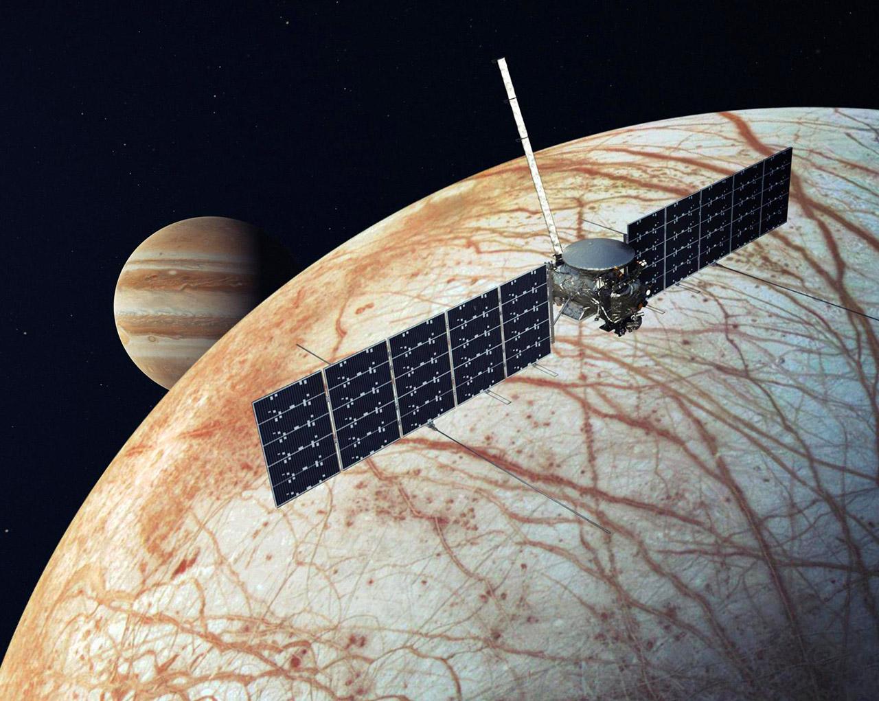 NASA SpaceX Europa Clipper Mission Falcon Heavy 2024