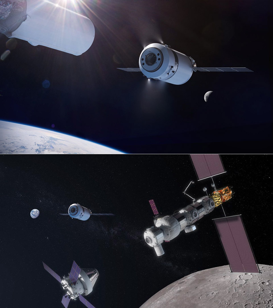 NASA SpaceX Lunar Gateway