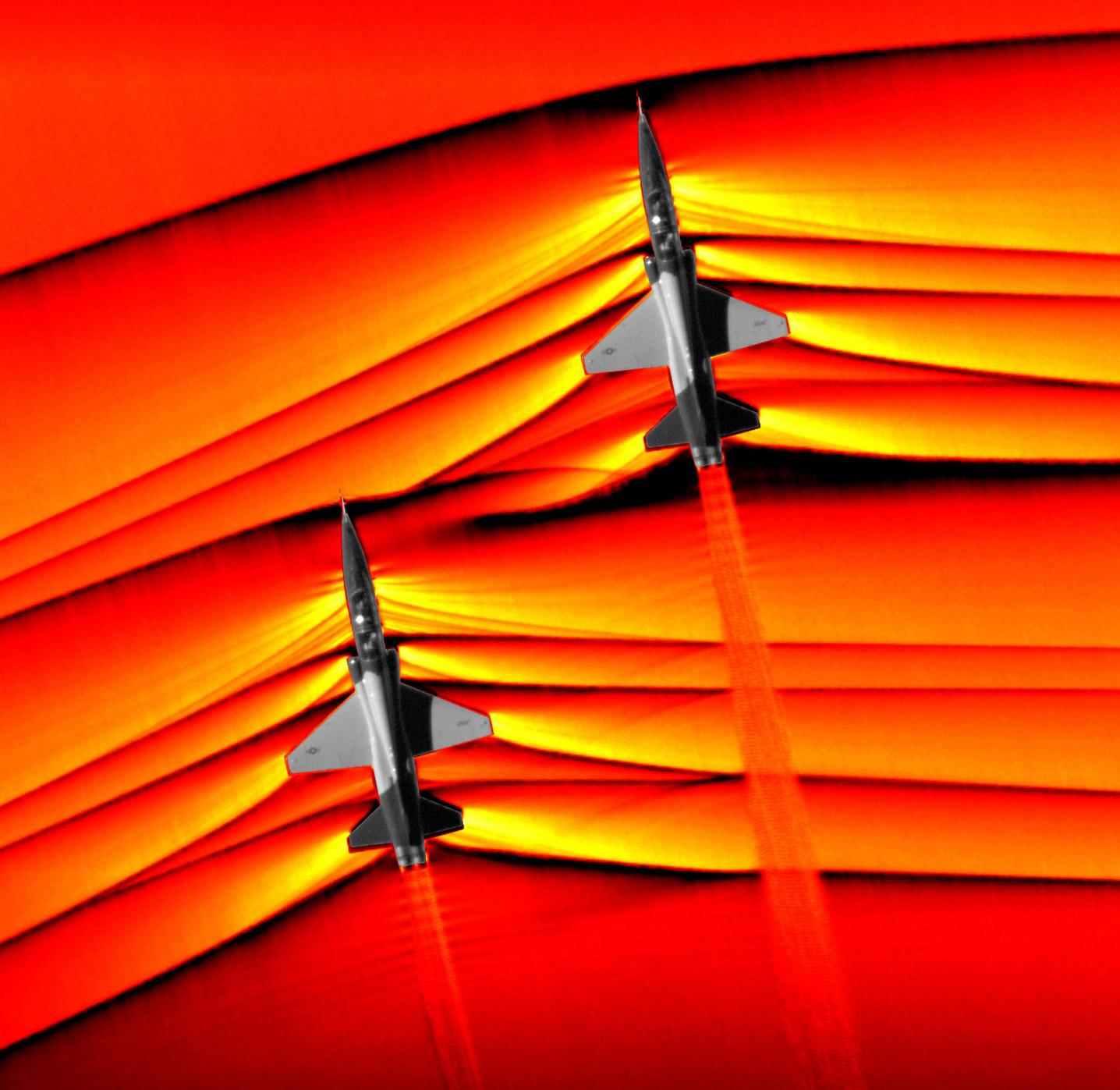 NASA Supersonic Aircraft Waves