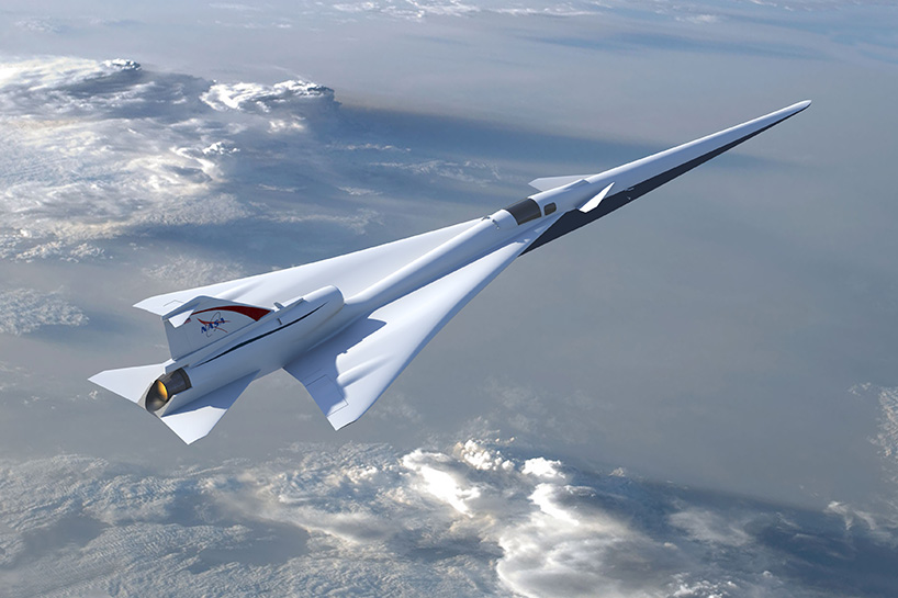 La NASA Supersonique X de l'Avion a Révélé, Sera Développé par Lockheed Martin